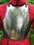 Steel breastplate